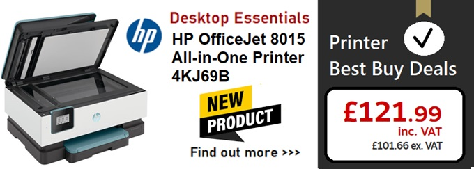 HP OfficeJet 8015 All-In-One Printer