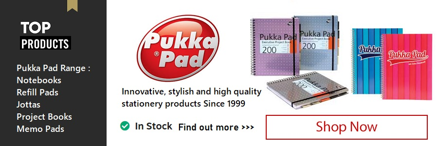 See Our Range of Pukka Pads