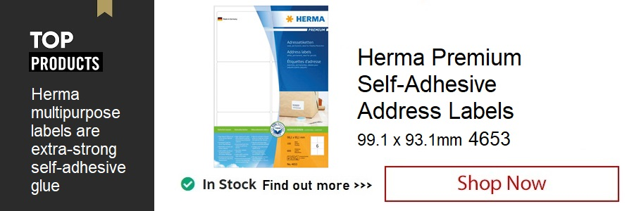 Herma Premium Self-Adhesive Address Label <TAG>ONLY</TAG>