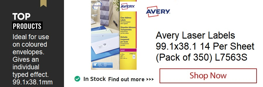 Avery Laser Labels, Pack of 350 <TAG>ONLY</TAG>