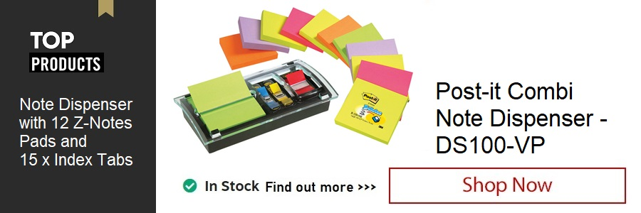 Post-it Designer Combi Note Dispenser <TAG>ONLY</TAG>