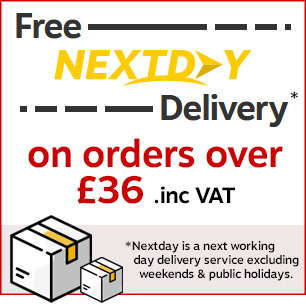 Free Next Day Delivery on Orders Over £36