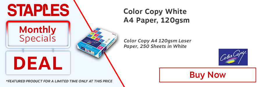 Color Copy A4 Paper 120gsm White (Pack of 250) <TAG>ONLY</TAG>