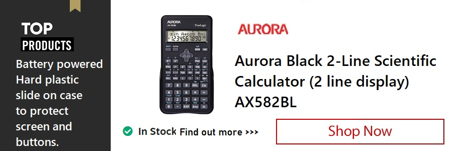 Aurora Scientific Calculator <TAG>ONLY</TAG>