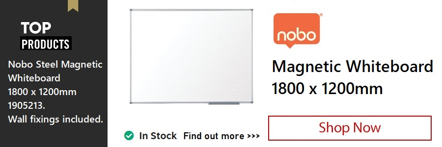Nobo Magnetic Whiteboard <TAG>ONLY</TAG>