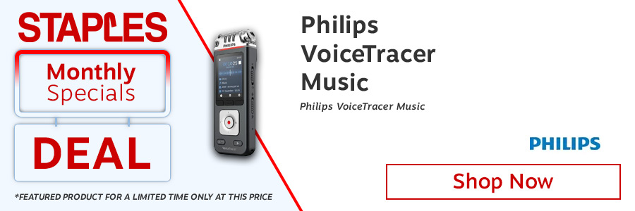Philips VoiceTracker Music <TAG>ONLY</TAG>
