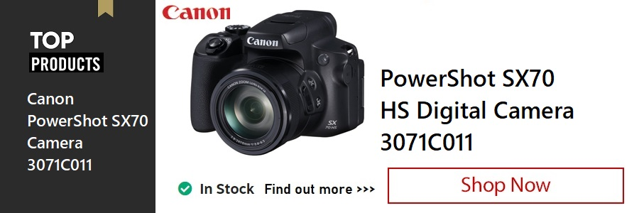 Canon Powershot SX70 Camera <TAG>ONLY</TAG>