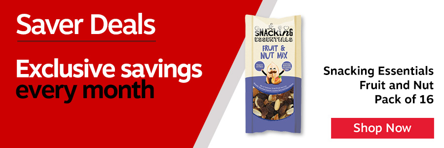 Snacking Essentials Fruit and Nut 40g (Pack of 16)<TAG>Only</TAG>