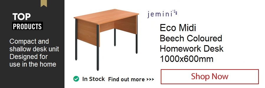Jemini Eco Midi Homework Desk <TAG>ONLY</TAG>
