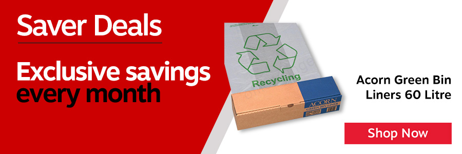 Heavy duty recycling bin liners. Ideal for effective waste separation. To be used in conjunction with the Acorn bin range. Perforations on the roll for easy tear off. Clear/ Printed liners. Pack of 50.<TAG>Only</TAG>