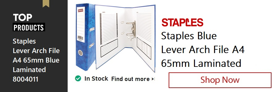 Staples Lever Arch File <TAG>ONLY</TAG>