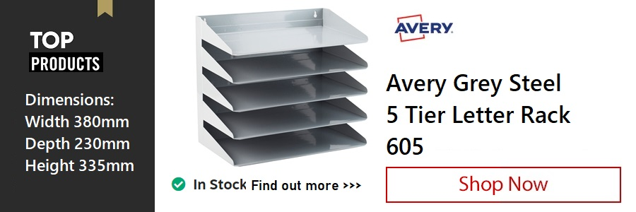 Avery 5 Tier Letter Rack <TAG>ONLY</TAG>