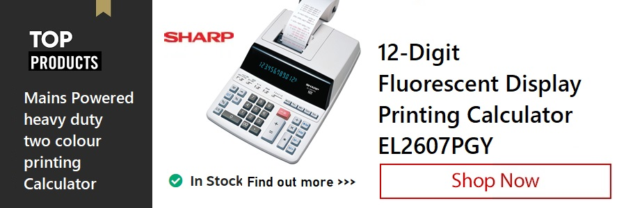 Sharp Printing Calculator <TAG>ONLY</TAG>