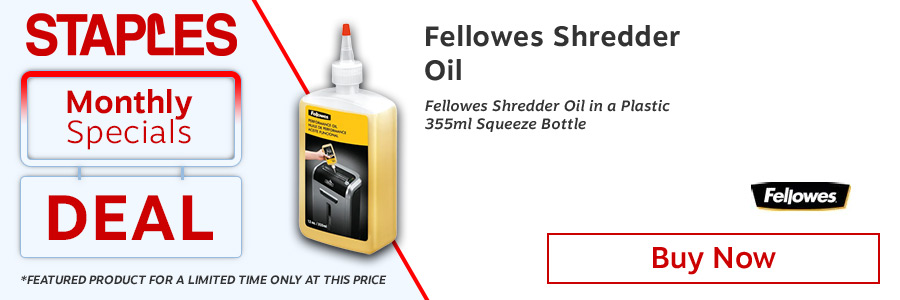 Fellowes Shredder Machine Oil 355ml Bottle <TAG>ONLY</TAG>