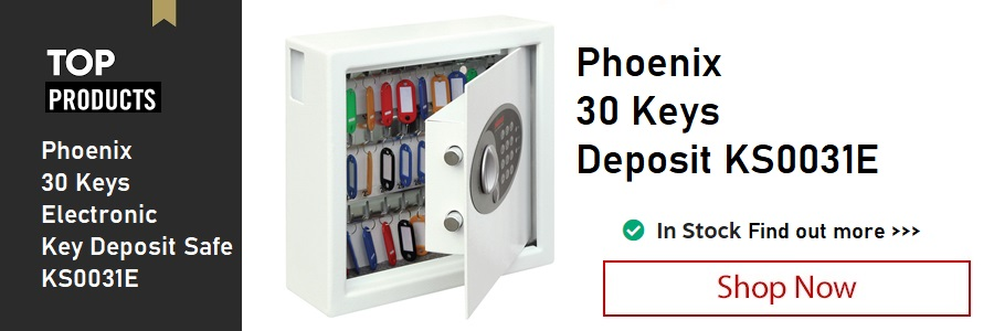 Phoenix 30 Keys Deposit Safe <TAG>ONLY</TAG>