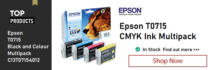 Epson T0715 Multipack Ink Cartridge <TAG>ONLY</TAG>