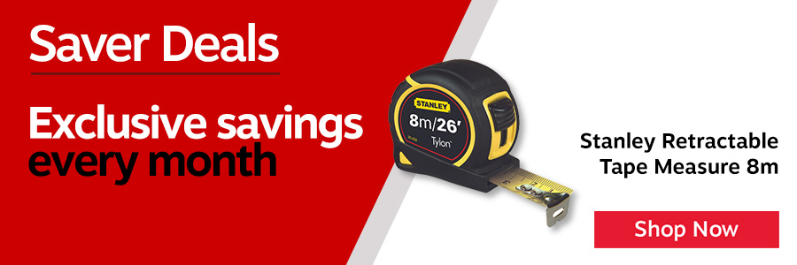 Stanley 8 metre tape measure manufactured from corrosion resistant lacquered metal. Features bi-material case for improved grip and true zero hook for accurate internal and external measurements.<TAG>Only</TAG>
