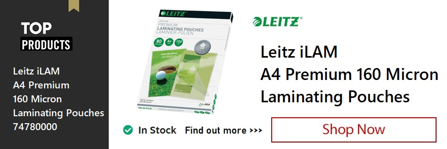 Leitz iLAM A4 Laminating Pouches <TAG>ONLY</TAG>