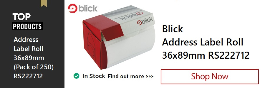 Blick Address Label Roll <TAG>ONLY</TAG>