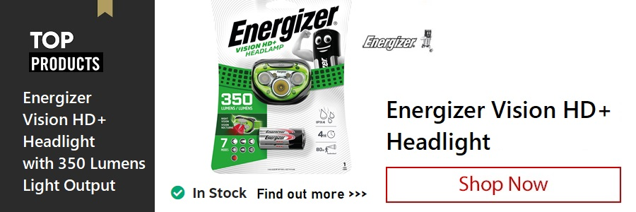 Energizer HD+ Headlight <TAG>ONLY</TAG>