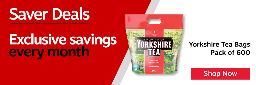 Yorkshire Tea Bag. Yorkshire Tea uses only the very best teas from Africa. Assam and Sri-Lanka to create a carefully balanced blend. A proper tasting cuppa. Pure and simple. Non-Returnable.<TAG>Only</TAG>