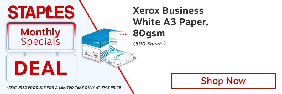 Xerox Business A3 White Paper <TAG>ONLY</TAG>
