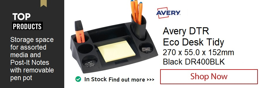 Avery DTR Eco Desk Tidy <TAG>ONLY</TAG>