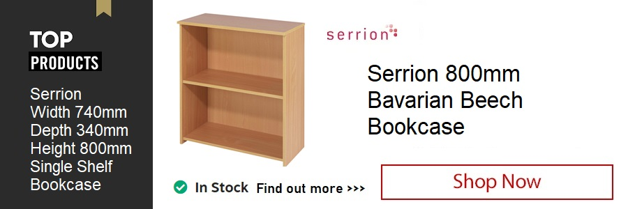 Serrion 800mm Beech Bookcase <TAG>ONLY</TAG>