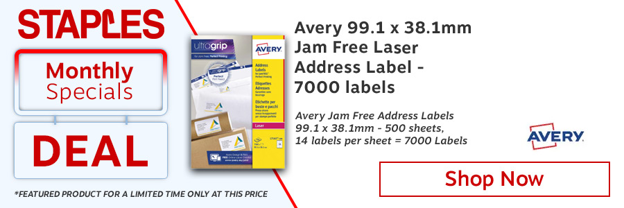 Avery Ultragrip Laser Address Labels QuickPEEL <TAG>ONLY</TAG>