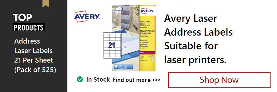 Avery Laser Address Labels <TAG>ONLY</TAG>