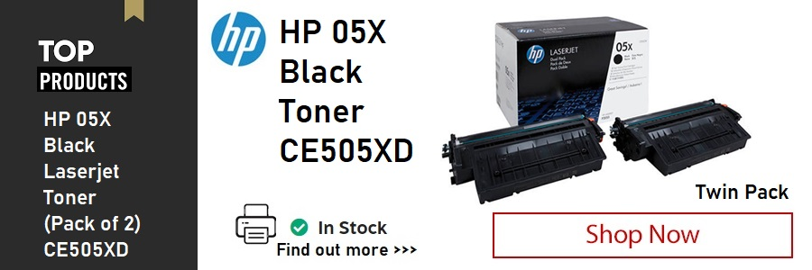 HP 05X Black Laser Toner Cartridge <TAG>ONLY</TAG>