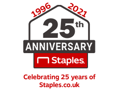 Celebrating 25 Years of Staples.co.uk