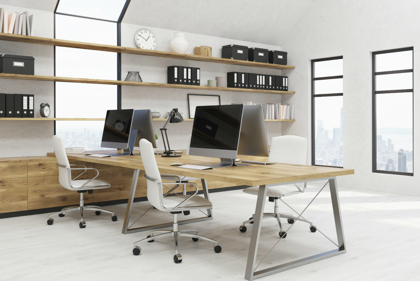 The pros and cons of hot-desking