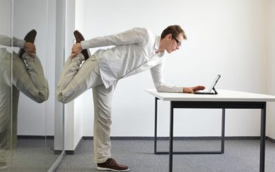 Desk exercise: Ways to be more active in the office