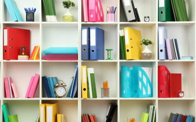 How Colours Help Organising the Home Office