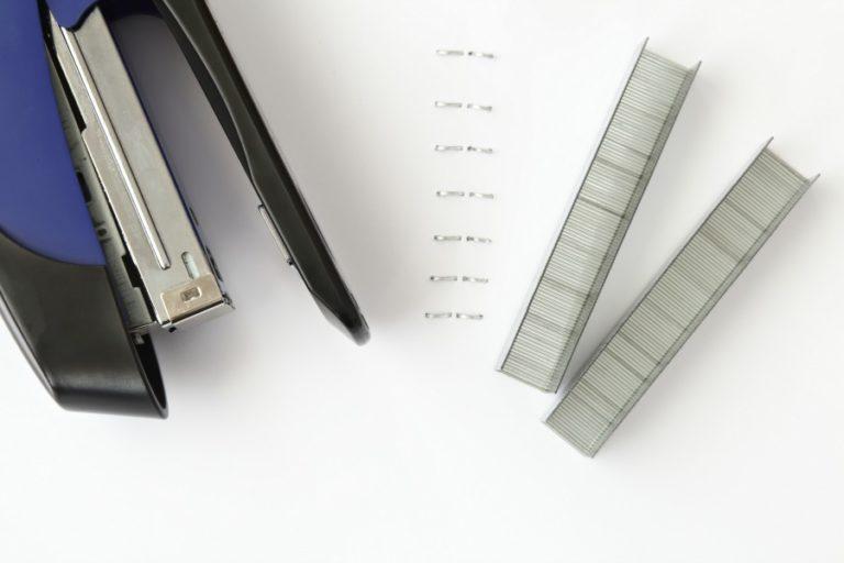 creating stapler artwork
