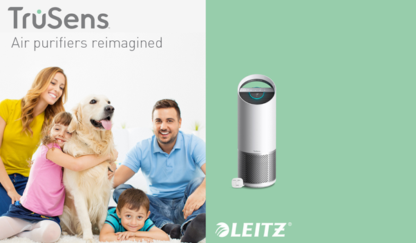 Welcome cleaner air with Leitz TruSens air purifiers