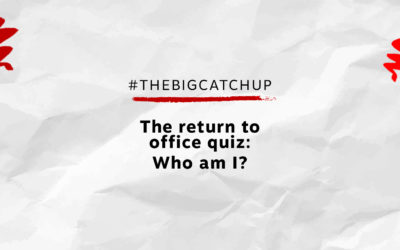 The return to office quiz: Who am I?